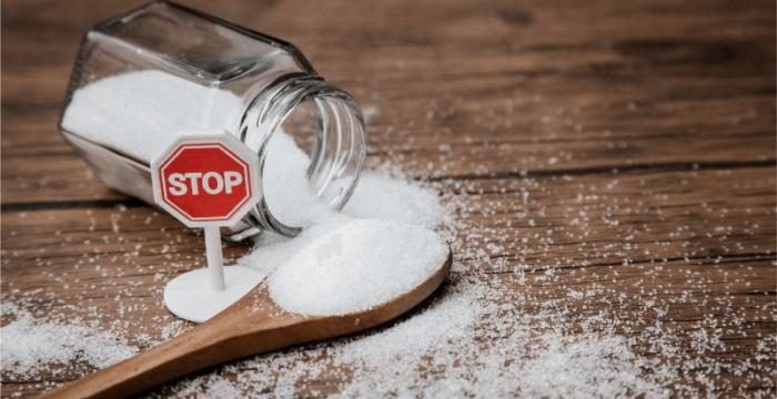 Minimize your sugar intake