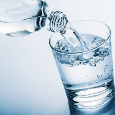 Drink some water, especially before meals